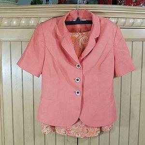 LeSuit Skirt Set, sz 4P